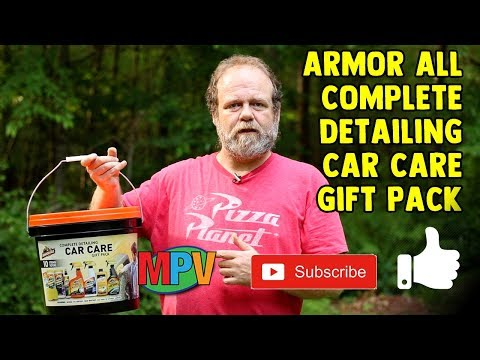 Unboxing -  Armor All Complete Detailing Car Care Gift Pack (7.10.19) #1266