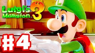 Luigi's Mansion 3 - Gameplay Walkthrough Part 4 - Mice Stealing Buttons! (Nintendo Switch)