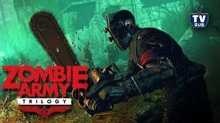Видео обзор геймплея игры Zombie Army Trilogy (pc, 2015, отзыв, прохождение Sniper Elite 3)