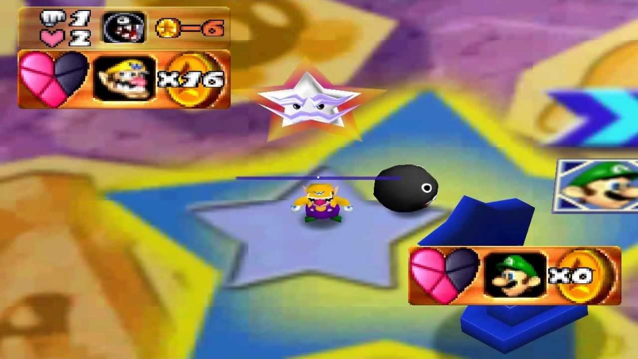 Mario Party 3 Duel Board - Gate Guy - Luigi VS Wario