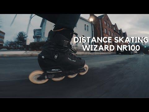 Distance Skating On Wizard Nr100 // Inline Skating Vlog