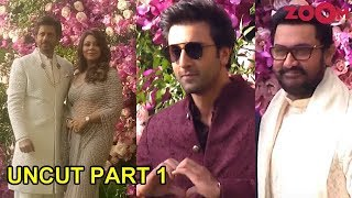 Akash Ambani & Shloka Mehta Grand Wedding | Part 1 | Shah Rukh Khan, Priyanka, Ranbir, Aamir & more