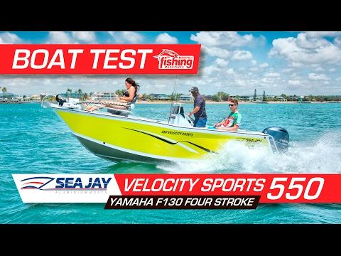 Boat Test: SeaJay Velocity Sports 550 With Yamaha F130 4-stroke