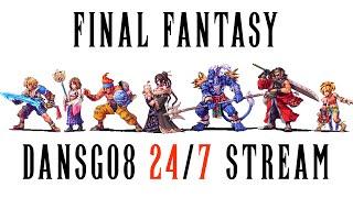 24/7 Final Fantasy Community Stream - Ff7-8-9-10-12-13-15 Walkthroughs By Dansg08 - Description