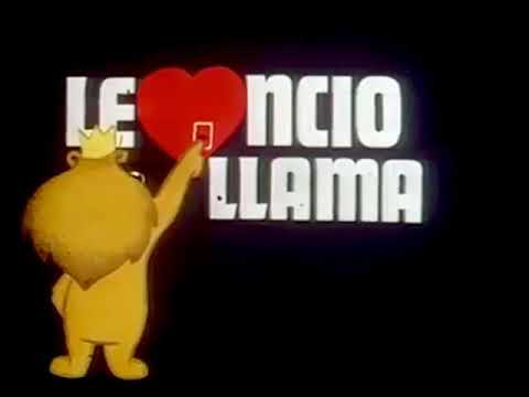 No Me Distraigas... No Ves Que LEONCIO LLAMA (Placa Del Telecine De Canal 11 - 1982)