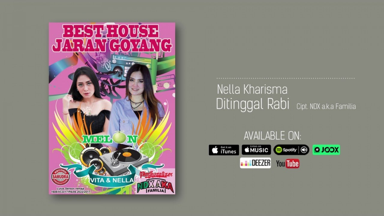 Nella Kharisma Ditinggal Rabi Official Audio Youtube