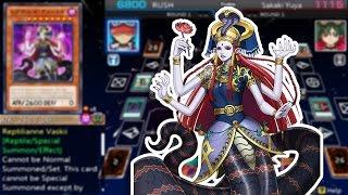 Yu-Gi-Oh! ARC-V Tag Force Special - Reptilianne Deck!