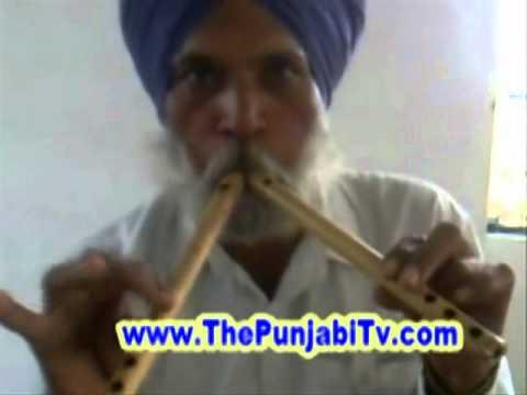 Algoza - Punjabi Old Music instrument Very Good Play { The Sikh Tv }