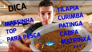 #8- MASSINHA TOP PARA PESCA- TILÁPIA, PATINGA, CURIMÁ, CARPA, MATRINXÃ