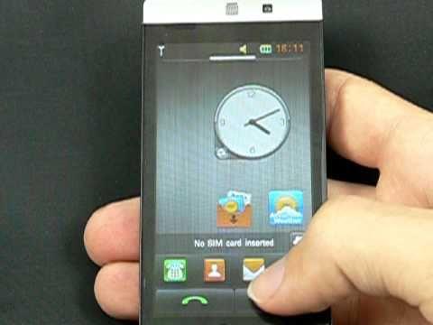 LG GD880 Mini - prostředí LG S-Class