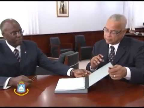 Council of Ministers Official Swearing in Ceremony