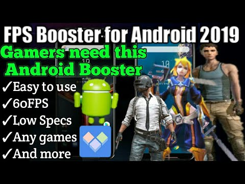 Booster For Android | Lag Free 100% | FPS Booster.apk | Non-Rooted | 60FPS For Any Games✓✓