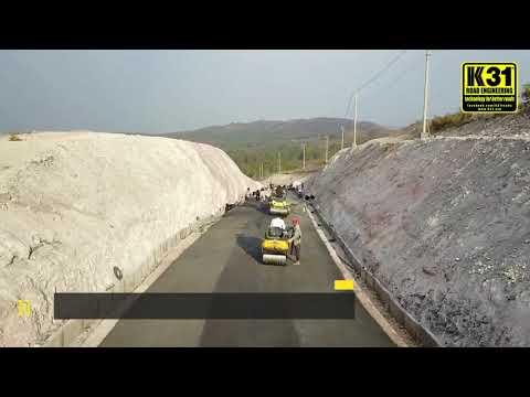 Easy road construction using K31-CAP cold mix asphalt polymer