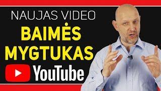 Naujas arba YouTuberis baigia veiklą internete | Baimės mygtukas – Atradau.lt