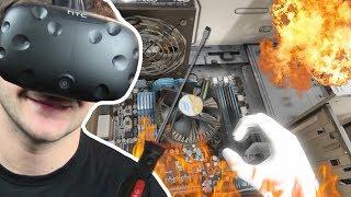 Symulator ROZKRĘCANIA WSZYSTKIEGO - Disassembly VR (HTC VIVE VR)