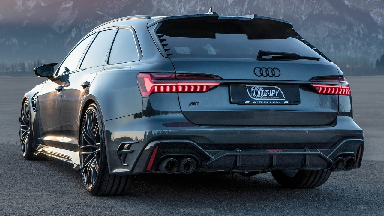 Premiere 2020 Audi Rs6 R Avant 740hp 920nm Beast Coolest Rs6 Ever By Abt Sportsline Youtube