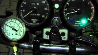 yamaha tx750 oil pressure