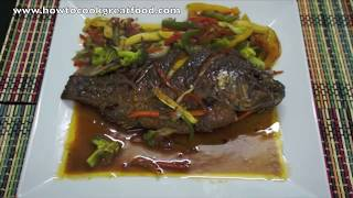 Chinese Sweet n Sour Fish Recipe