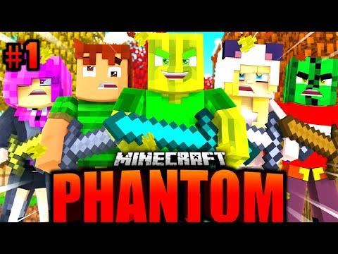 ISY, FLO, TOBBSS & JULIAN: WER ÜBERLEBT?! - Minecraft PHANTOM #01 [Deutsch/HD]