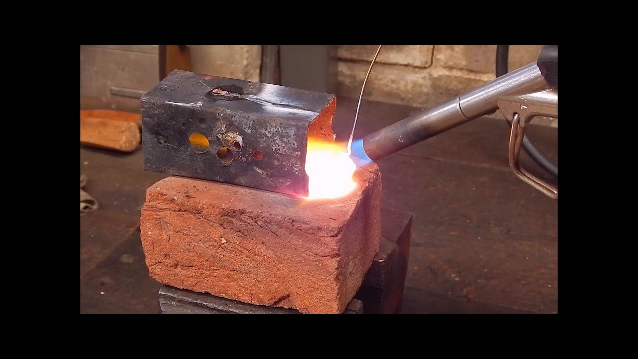 More Experimental Brazing With Copper Electrical Wire Youtube