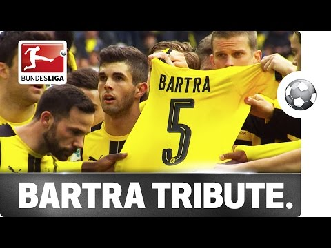 Dortmund Pay Marc Bartra Tribute After Frankfurt Win