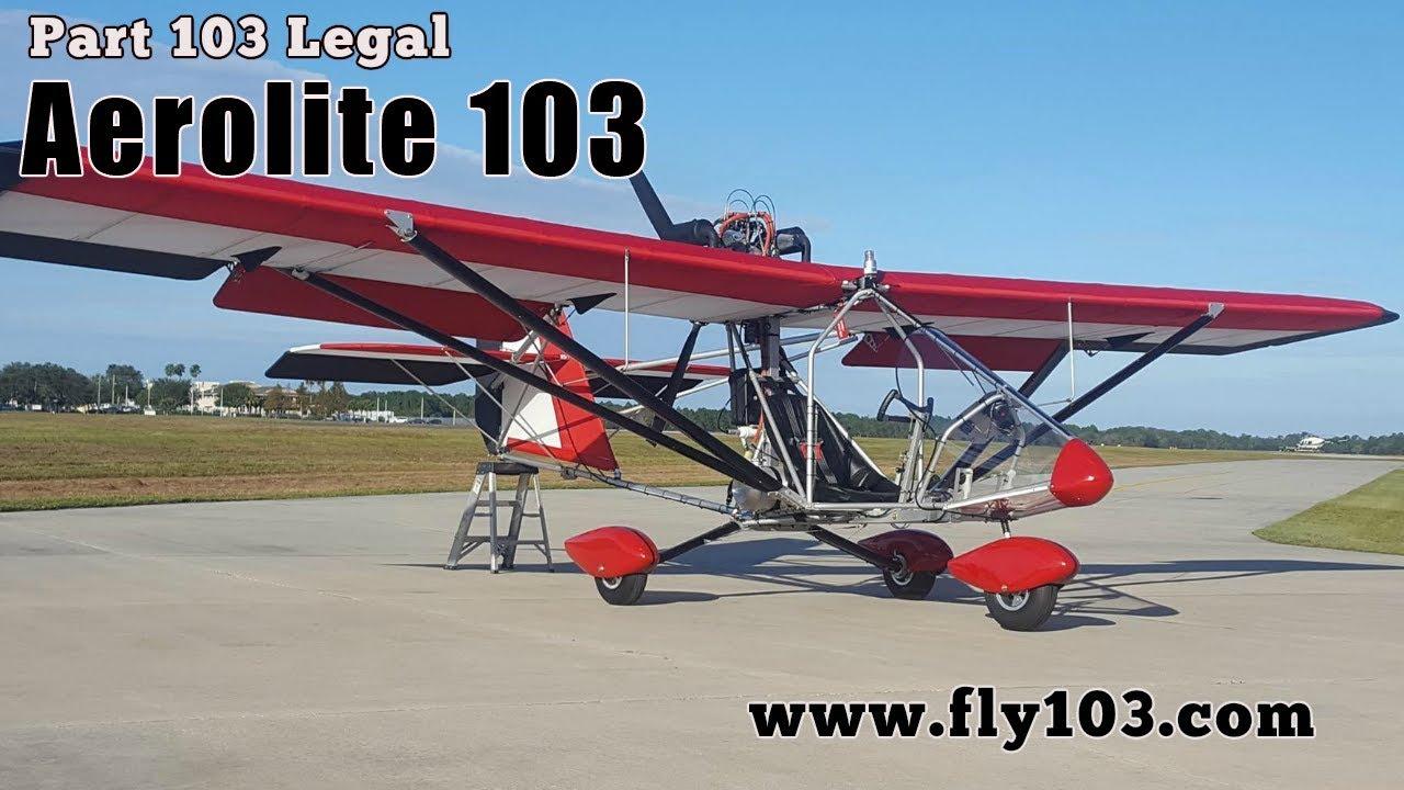 Aerolite 103 Part 103 Legal Ultralight Aircraft Deland Sport Aviation  Showcase