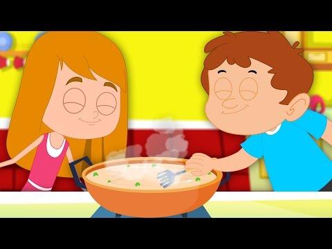 Peas Porridge Hot   Nursery Rhymes For Children   Videos For Toddlers