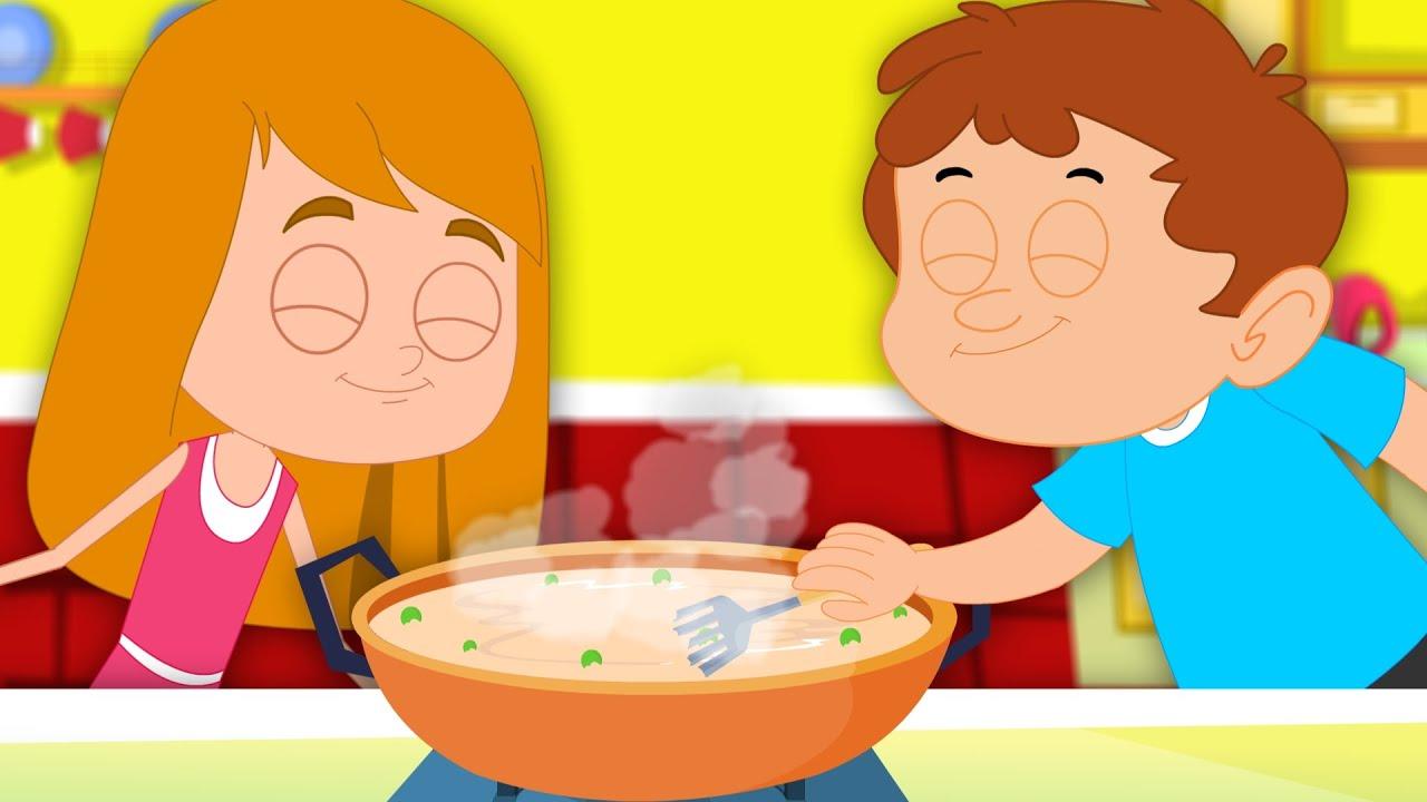 Peas Porridge Hot Nursery Rhymes For Children Videos