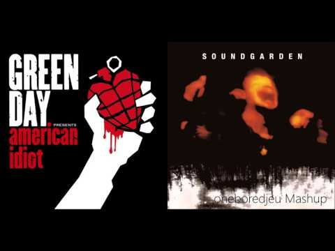 September Sun  Green Day vs Soundgarden Mashup