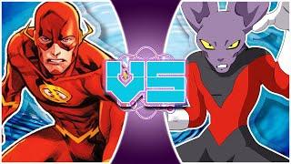 DYSPO Vs THE FLASH! (Dragon Ball Super Vs Justice League)   REWIND RUMBLE BONUS