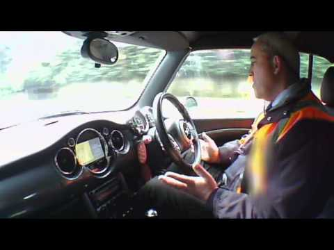 2005 MINI COOPER CONVERTIBLE 1.6 ROAD TEST (Not Top Gear) EXCLUSIVE.