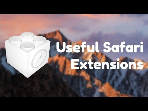 The best Safari extensions!
