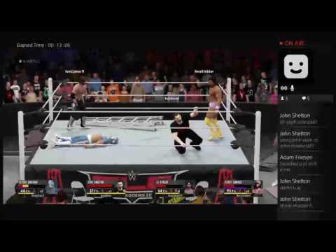 WWE2K16 Online Epic 4way TLC
