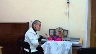 Урок музыки с ребёнком 4 лет
