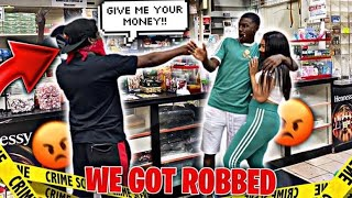 WE ALMOST GOT ROBBED!!!