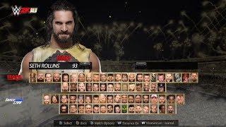 WWE2K18 Concept - Roster, Main Menu & Arena PS4