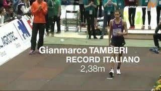 Gianmarco Tamberi 2.38 Record Italiano salto in alto HJ