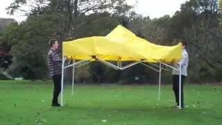Видео обзор установки быстро сборного шатра 3.3 . 3на3. как собрать шатер.шатер торговый.