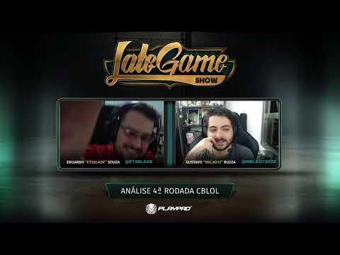 Late Game Show #108 - Análise da 4ª rodada do #CBLoL e bloco de perguntas