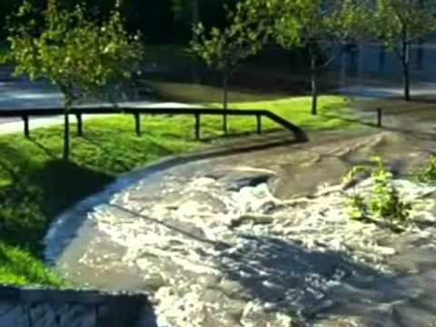 Tropical Storm Irene Hits the Adirondacks