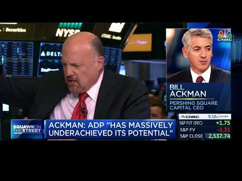 CNBC's Jim Cramer on Why Bill Ackman Deserves a Board Seat at ADP