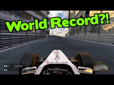 Project CARS Gameplay | F1 Monaco X1 World Record [No Assists]