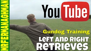 Dog Training Part 9 - Left And Right Retrieves.
