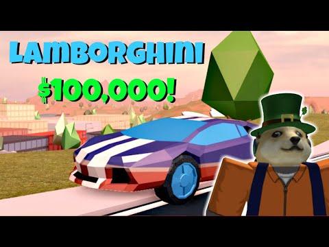 BUYING THE LAMBORGHINI | Roblox Jailbreak