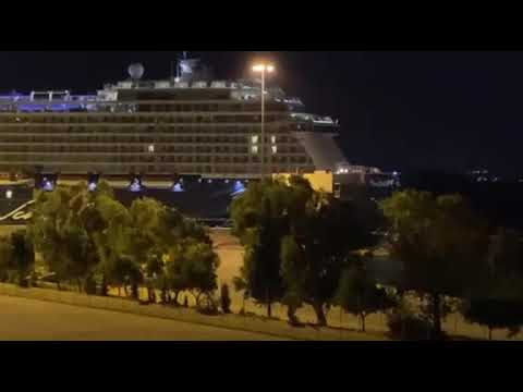 Newpost.gr - Στο λιμάνι του Πειραιά το κρουαζιερόπλοιο με τα κρούσματα κορωνοϊού