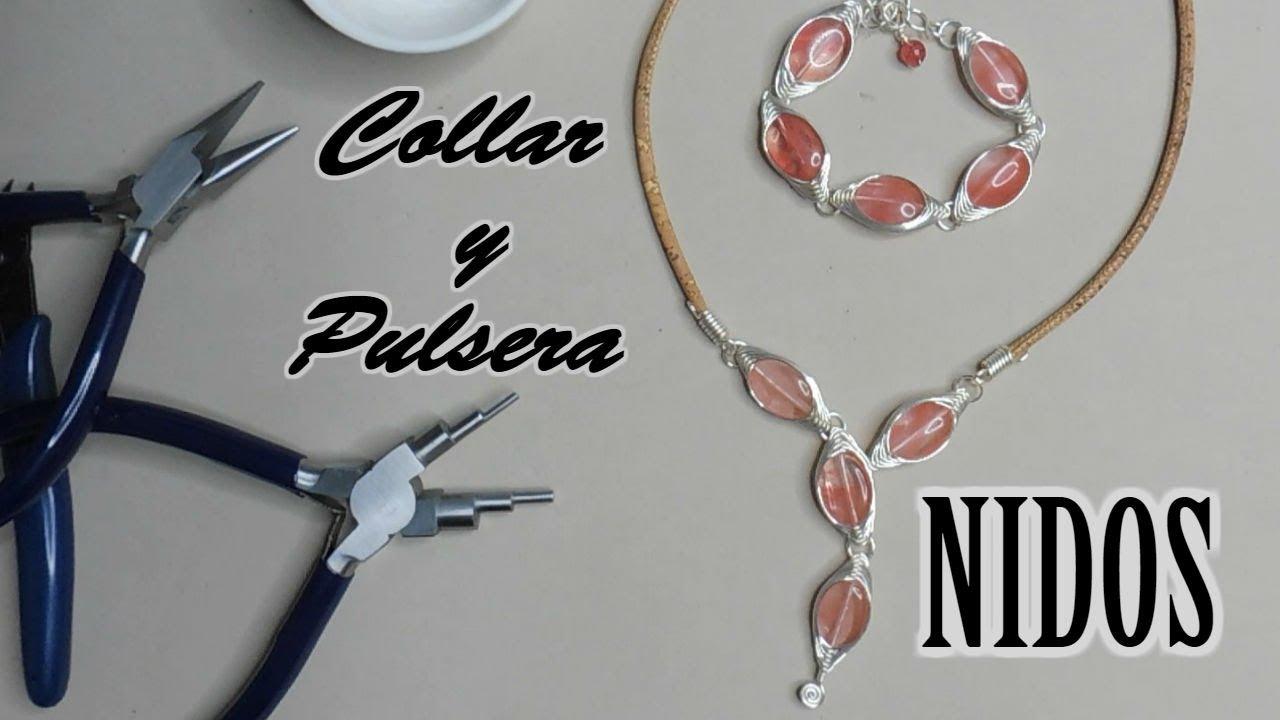 c6f197a279c4 Collar y Pulsera NIDOS (paso a paso) - YouTube