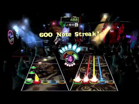 Three Days Grace - Riot (Guitar Hero)