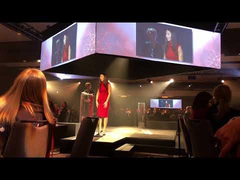Sandra Abitan - Prix Leadership - Association des femmes en finance du Québec -Gala les Talentueuses