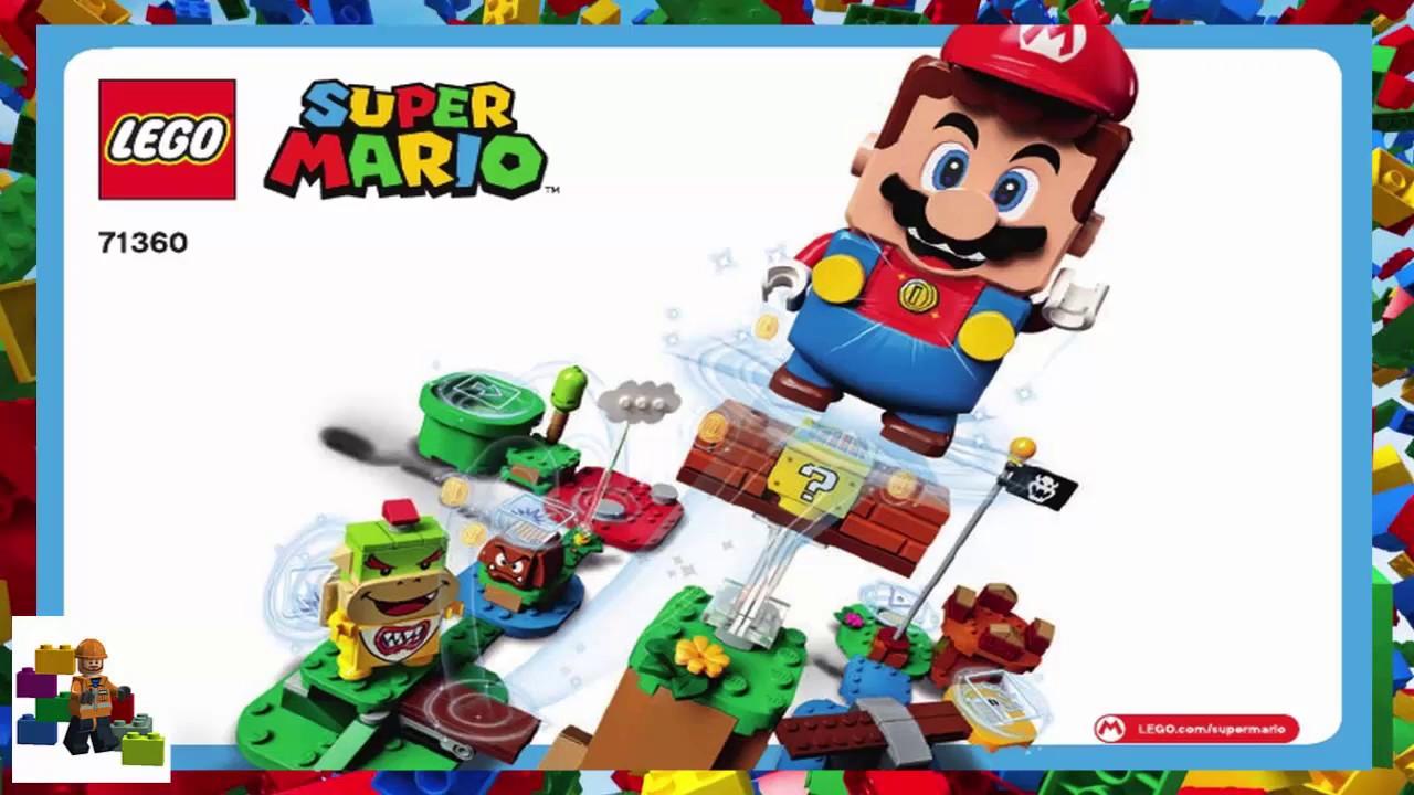 LEGO instructions - Super Mario - 71360 - Adventures with Mario