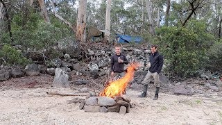 Camping trip to an Australian wilderness river